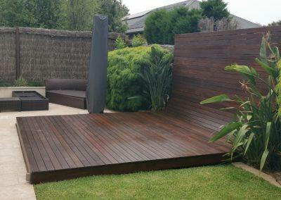 Deck restoration after